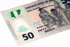 Währungsbanknote von Afrika Stockbild