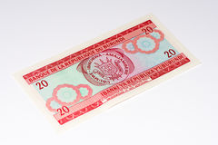 Währungsbanknote von Afrika Stockfoto