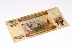 Währungsbanknote von Afrika Stockbilder