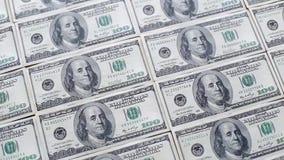 Währungsbanknotennahaufnahme stock video