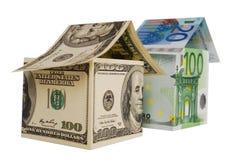 Währungshaus Lizenzfreie Stockfotos