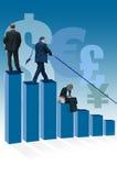 Währungsstabilitäten Stockfoto