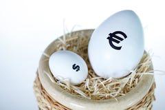 Währungsunterschied Stockfoto