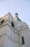 Wände eines orthodoxen Tempels Stockfotografie