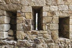 Wände eines Schlosses Lizenzfreie Stockbilder