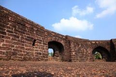 Wände von Bekal-Fort stockfoto