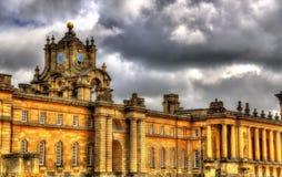 Wände von Blenheim-Palast - England Lizenzfreie Stockbilder