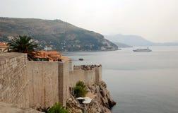 Wände von Dubrovnik Lizenzfreies Stockfoto