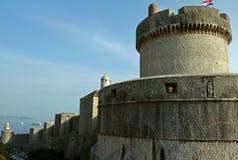 Wände von Dubrovnik kroatien Lizenzfreie Stockbilder