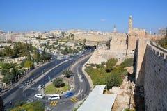 Wände von Jerusalem Lizenzfreie Stockbilder