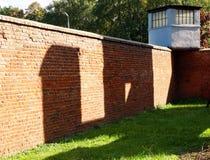 Wände von Kriegsdramen Stockbilder
