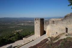 Wände von Sabiote, Dorf von Jaen, in Andalusien Lizenzfreies Stockfoto