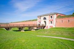Wände von Zamosc, Polen Stockfoto