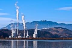 Wärmekraftwerk Stockfotos