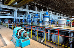 Wärmekraftwerk #11 Stockfoto
