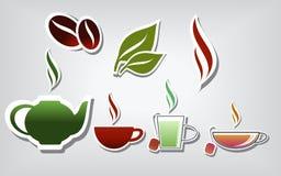 Wärmen Sie Getränke Stockfotos