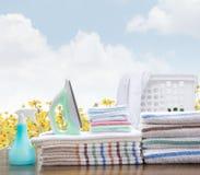 Wäsche-Service Stockfoto