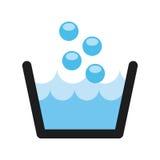 Wäsche-Service stock abbildung