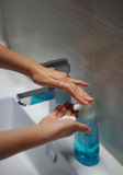 Wäschehände Stockbilder