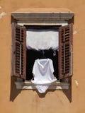 Wäscherei, die hängt, um zu trocknen lizenzfreie stockfotografie