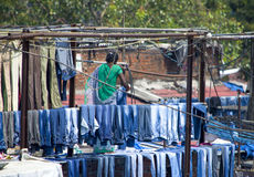 Wäscherei Dkhobi Gkhat Mumbai Lizenzfreies Stockfoto