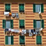 Wäscherei in Genua Stockbilder