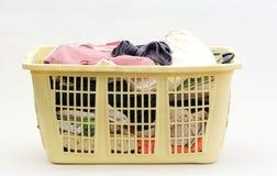 Wäscherei-Korb Lizenzfreie Stockfotos