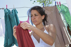 Wäscherei-Tag Lizenzfreies Stockbild