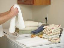 Wäscherei-Tag Stockfoto