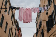 Wäscherei in Venedig Lizenzfreie Stockfotografie