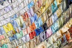 Wäscherei, Zentralwäscherei Dhobi Ghats Stockfoto