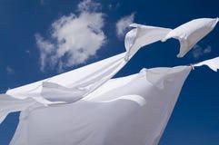 Wäschereihängen Lizenzfreies Stockfoto
