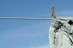 Wäschereitag Stockbild