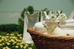 Wäschereiwäsche Stockfotografie