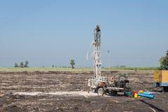 Wässern Sie Bohrgerätmaschine Thailand, Wasserbohrgerätmaschine in Thailand Stockbilder