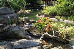 Wässern Sie Garten Stockfotografie