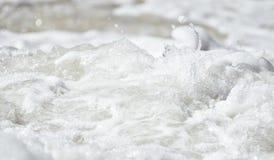 Wässern Sie Schaumgummi Stockfotografie