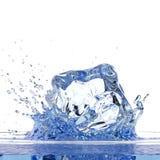 Wässern Sie Spritzen Stockbild