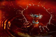 Wässern Sie Spritzen Stockfoto