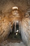 Wässern Sie Zisterne in Acrocorinth die Akropolis von altem Korinth Lizenzfreie Stockfotografie