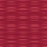 Wässerung bewegt auf roten Hintergrund wellenartig Lizenzfreie Stockbilder