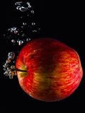 Wässriger Apfel Lizenzfreie Stockbilder