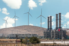 W�nd Turbines Royalty Free Stock Photos
