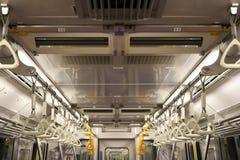 Wśrodku metra biega w Tokio obrazy stock