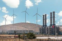 Wşnd Turbines Royalty Free Stock Photos