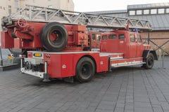 wóz strażacki antyczne Zdjęcie Stock