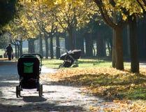wózek dziecięcy Obraz Stock