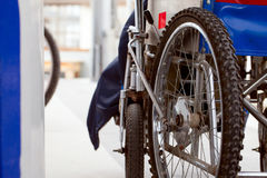Wózek inwalidzki Obraz Royalty Free