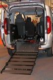 Wózek inwalidzki Dojazdowa rampa Obrazy Stock