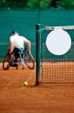 Wózek inwalidzki tenis obraz stock